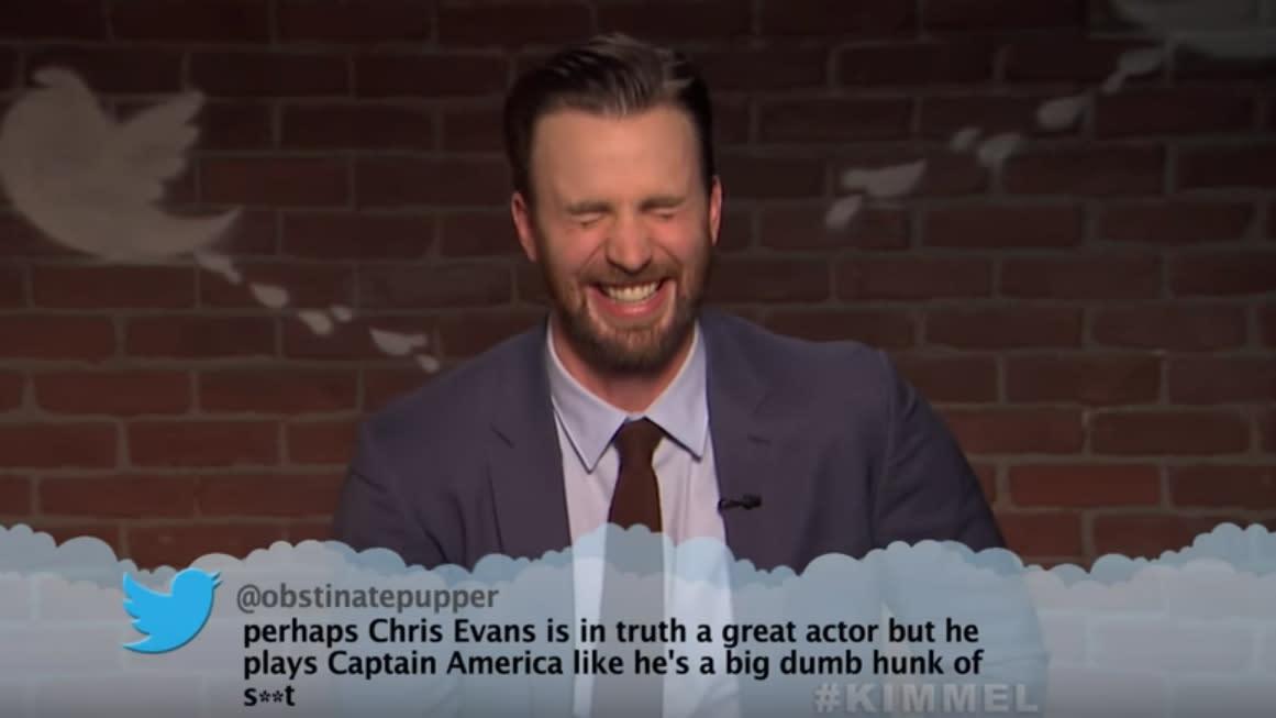 Jimmy Kimmel Debuts 'Mean Tweets: Avengers Edition'