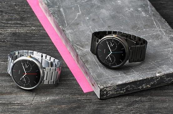 Moto 360 metal bands arrive, gold option in tow