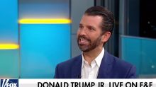 "Donald Trump Jr.'s pre-debate appearance draws questions: ""How much coke did Don Jr. snort?"""