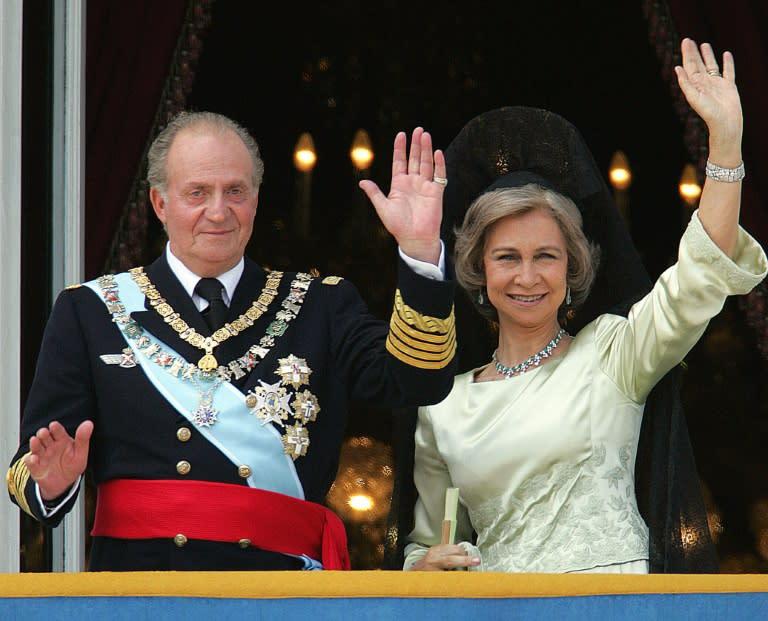 Juan Carlos married Sofia, a Greek princess, in May 1962 (AFP Photo/Christophe SIMON)