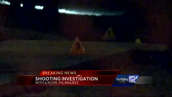 Milwaukee police investigate early-morning shooting
