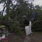 Imelda brings heavy rain and tornadoes to Texas