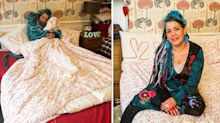 A woman is marrying her own duvet – and we can't say we blame her