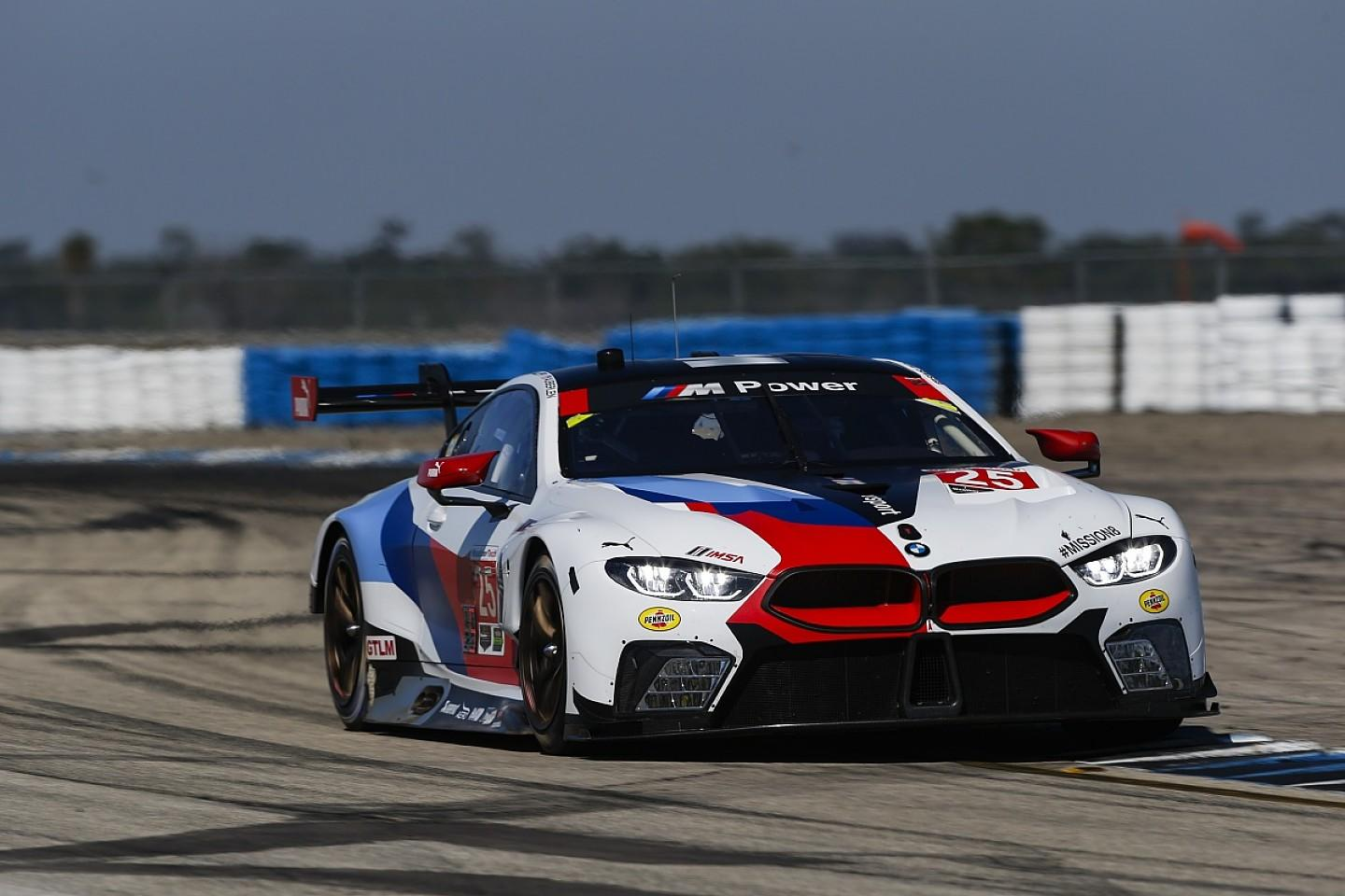 Bmw S New M8 Heavier For Wec Than When It Took Sebring Podium