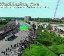 Tanker truck drives into Minneapolis protesters