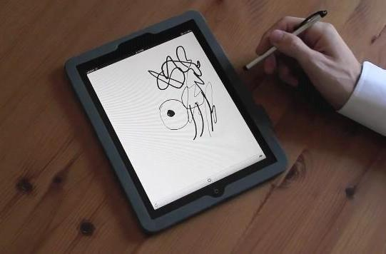 Pressure-sensitive drawing headed to iPad in free software library (video)