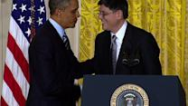 Jack Lew accepts Treasury secretary nomination, jokes about his signature