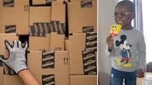 Boy buys $3000 worth of SpongeBob ice blocks from Amazon