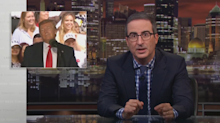 John Oliver links Trump's anti-immigrant language to recent mass shootings
