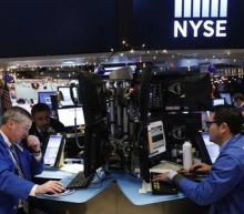 Dow drops eighth straight session on trade worry; Amazon slips