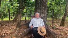 López Obrador ironiza e insta a Calderón a protestar por rechazo a su partido