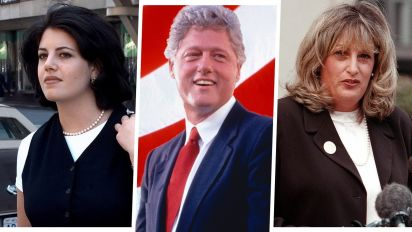 'Impeachment: American Crime Story' Cast and Their Clinton-Lewinsky Scandal Counterparts