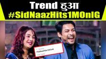 Sidharth Shukla & Shehnaaz Gill trends on Twitter #SidNaazHits1MOnIG
