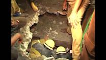 Dozens missing after India building collapse