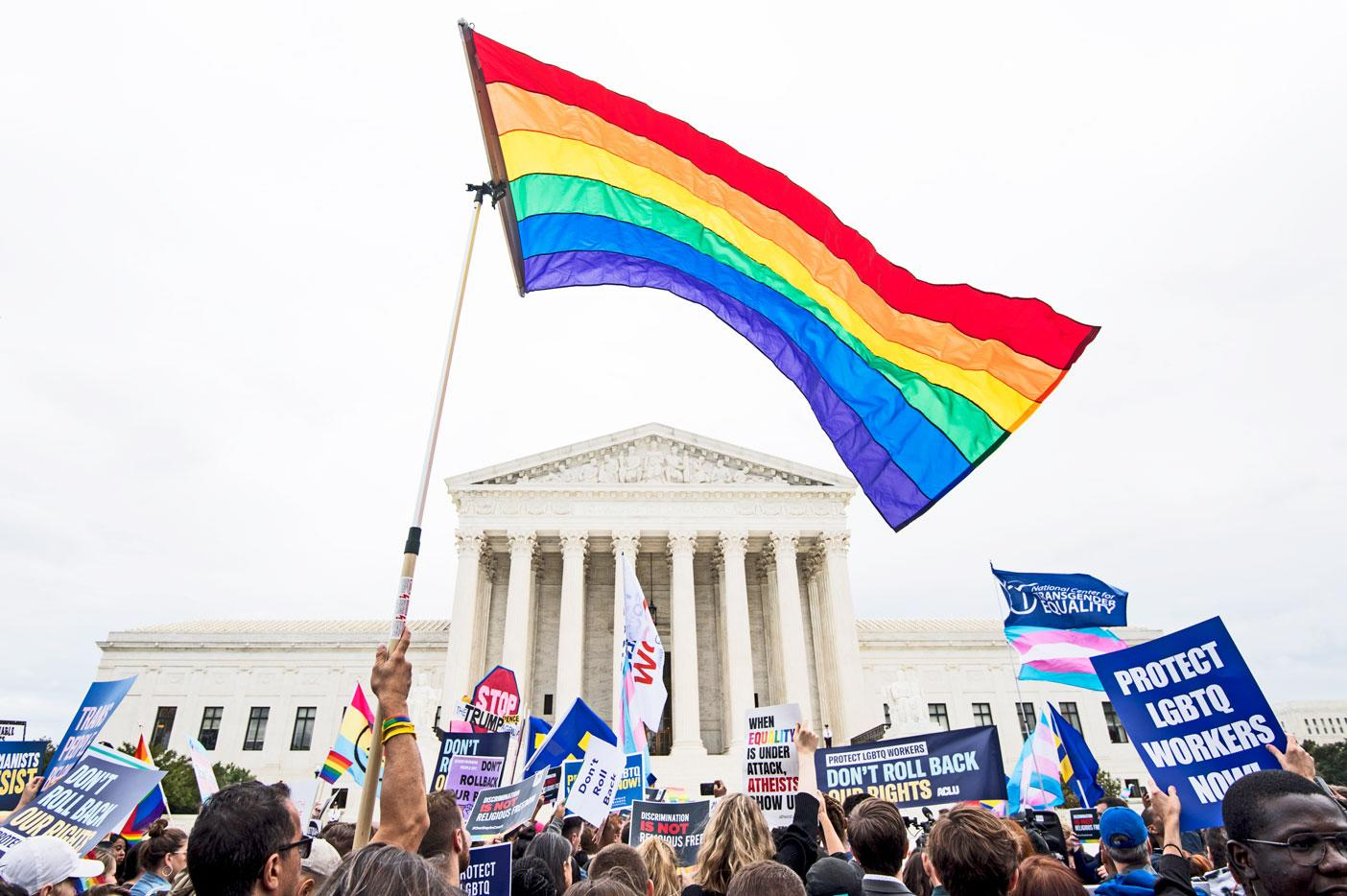 The Supreme Court to define civil rights for gay and transgender people and more news from the week