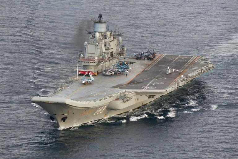 Repairs and upgrades of the carrier were to focus on its power plant and electronic systems (AFP Photo/STR)
