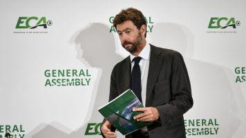 """Andrea Agnelli: """"Siamo davanti ad una minaccia esistenziale. La UEFA lavora per un nuovo calendario"""""""