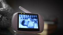 'Demonic' baby monitor photo goes viral