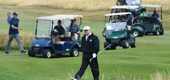 U.S. spent over $68K to house Trump at his resort