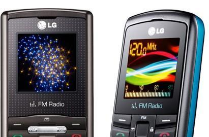 LG's GB110 and GB106 candybars keep it real, real simple