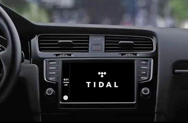 Tidal now works with Apple's CarPlay
