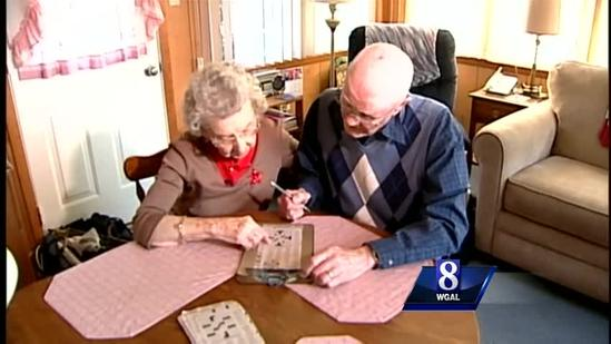 Couple weds for second time in their 70s
