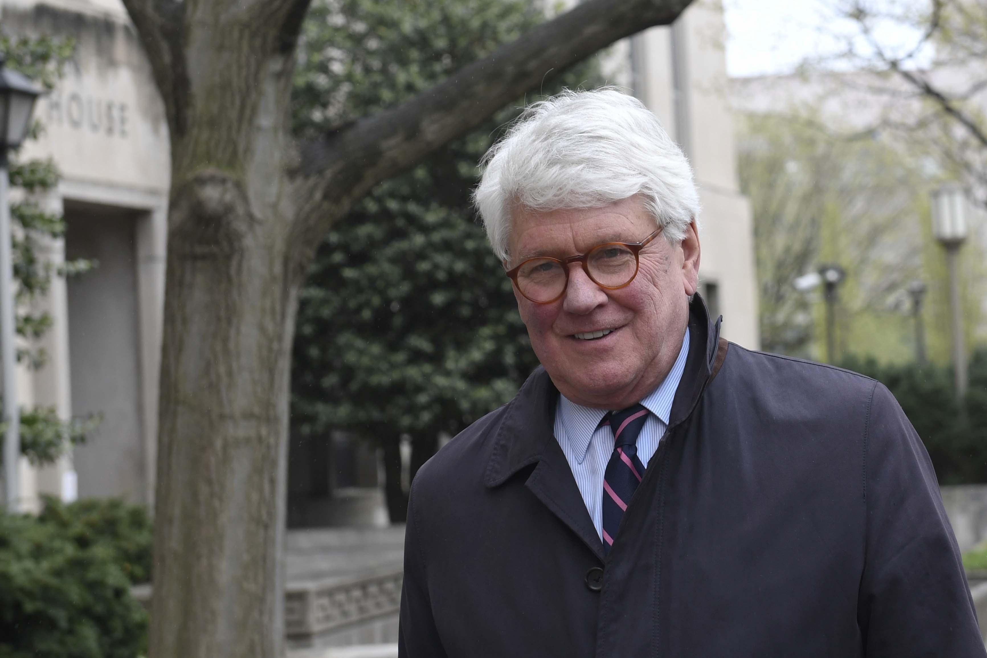 Mueller ties on display at jury selection for Greg Craig trial