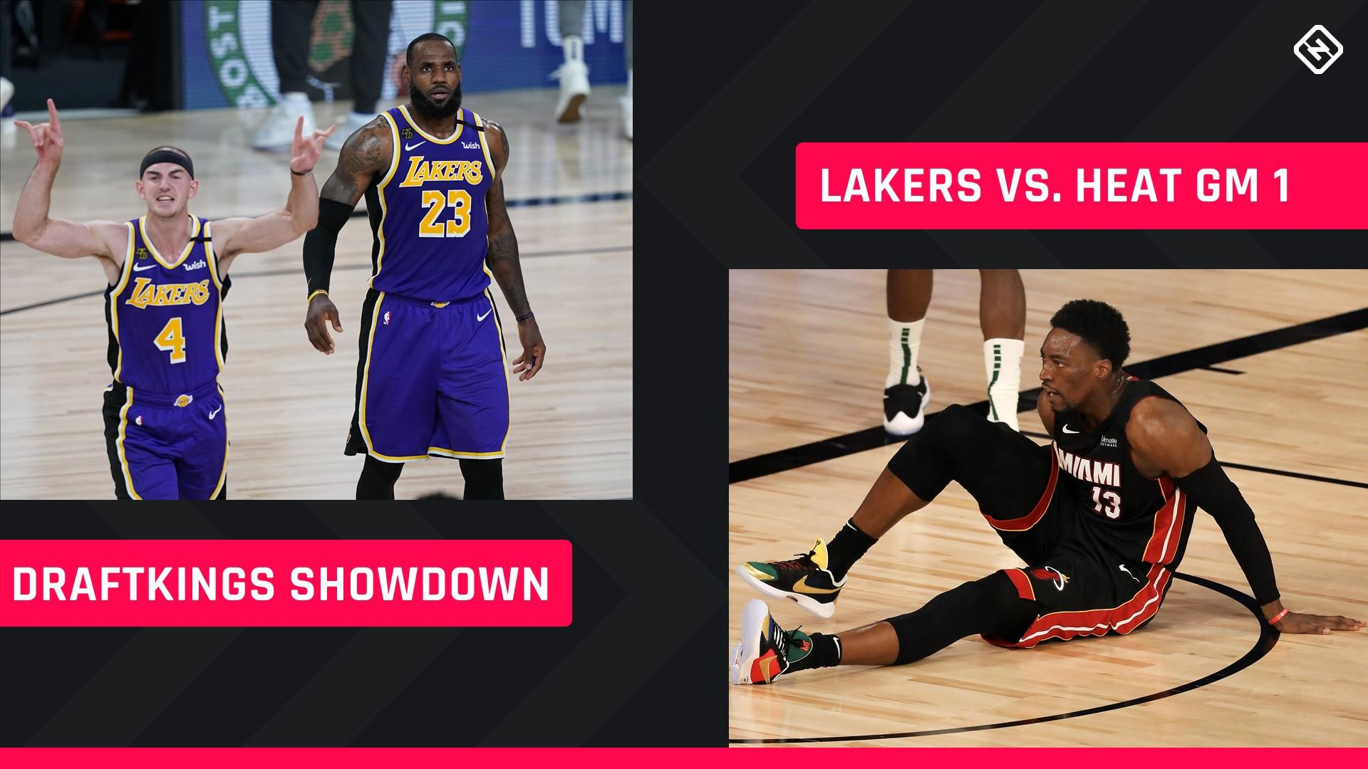 Nba Finals Draftkings Picks Nba Dfs Lineup Advice For Game 1 Lakers Heat Showdown Tournaments