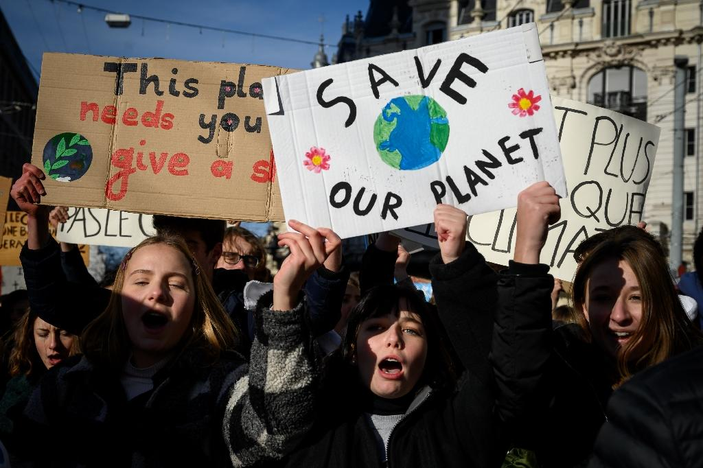 Scientific consensus is hardening that in order for Earth to avoid the worst scourges of climate change, emissions must peak by 2020 and drastically reduce thereafter (AFP Photo/Fabrice COFFRINI)