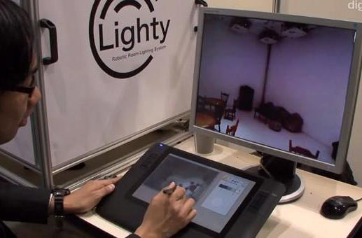 Lighty paints real lighting Photoshop-style, minus the overdone lens flare (video)
