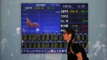 Asian shares off four-month lows, but Huawei row casts shadow