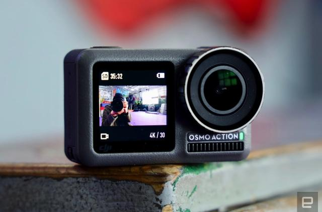 DJI takes on GoPro with the Osmo Action camera