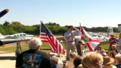 Rubio Speaks To Crowd In New Smyrna Beach