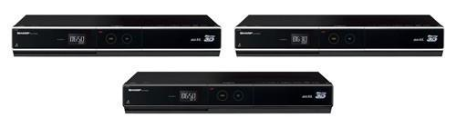 Sharp intros HDD-equipped AQUOS Blu-ray 3D players, complete with BDXL support