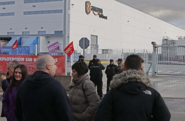 Amazon workers held strikes across Europe on Black Friday