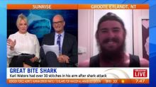 Meet the man who has been bitted by a shark twice