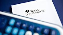 Texas Instruments Sinks as Customers Cut Orders on Trade Woe