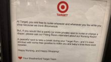 Breastfeeding moms are praising Target for encouraging them to nurse 'wherever and whenever'