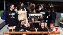Melbourne year 12 students create viral farewell video