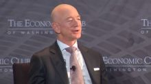 Jeff Bezos wanted to be a physicist, but started Amazon after a friend showed him he wasn't smart enough