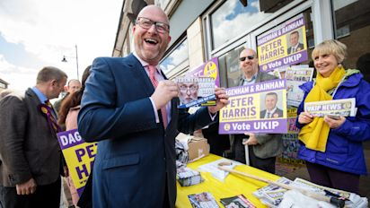 Paul Nuttall insists Ukip is 'not racist' ahead of party's General Election manifesto launch