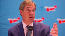 Nigel Farage is campaigning in the US for a politician who said being gay should be illegal