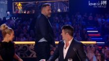 David Walliams reveals cheeky Simon Cowell bum tattoo