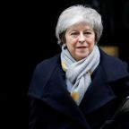 May in peril over Brexit on EU election day