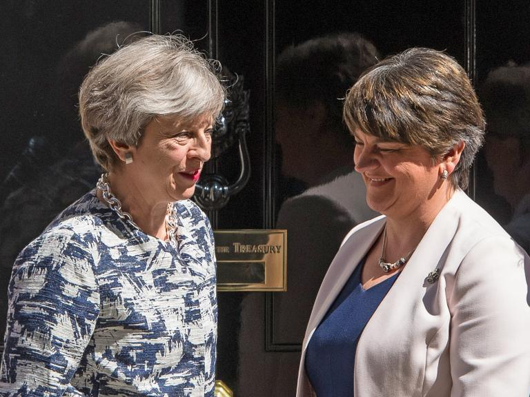 DUP abstains on crucial votes in warning over May's Brexit agreement