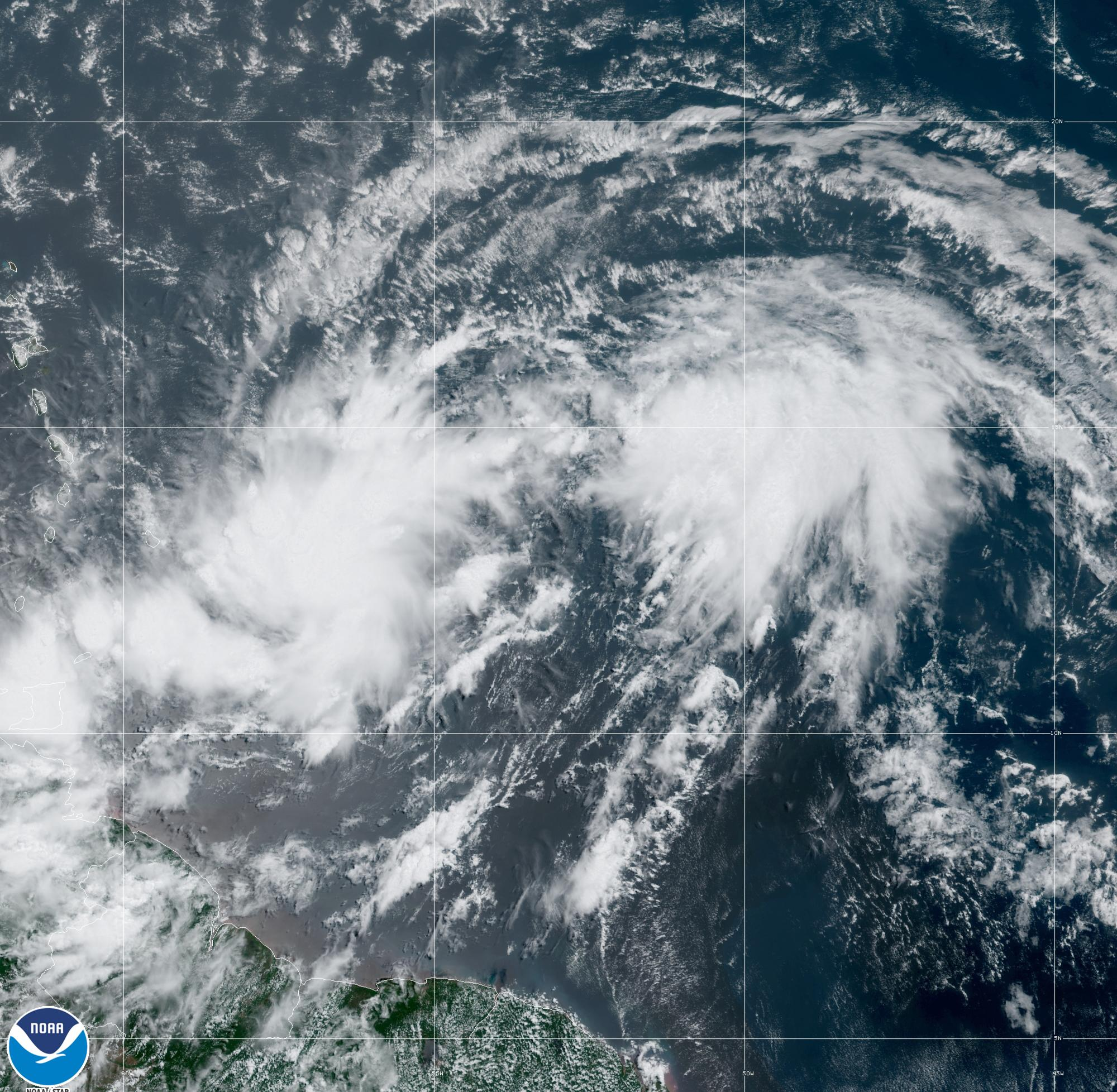 Tropical storm warning issued for Puerto Rico as cyclone approaches
