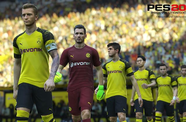 'PES 2019' loses Borussia Dortmund ahead of launch