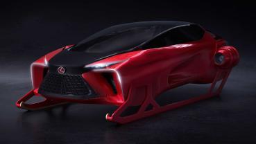 Lexus HX Sleigh Concept 讓聖誕老人的送禮路程更加舒適