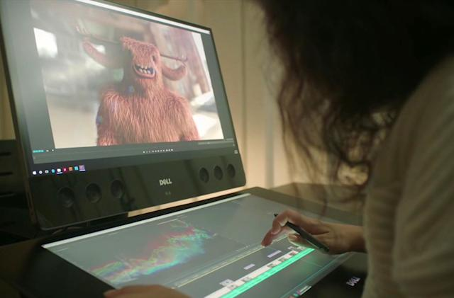 Dell hints at its take on a Surface Studio-like creative PC