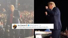 Donald Trump Dancing Awkwardly is Viral and Internet Wants to Unsee It